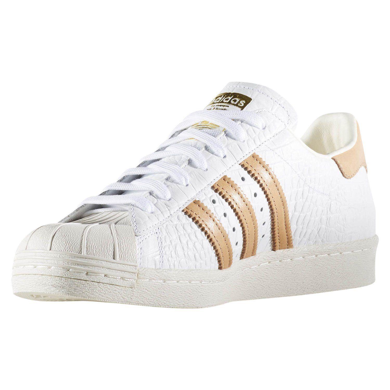 Adidas ORIGINALS Herren SUPERSTAR 80er Jahre Trainer weiße Schuhe Turnschuhe  Retro-selten ad505e58ce