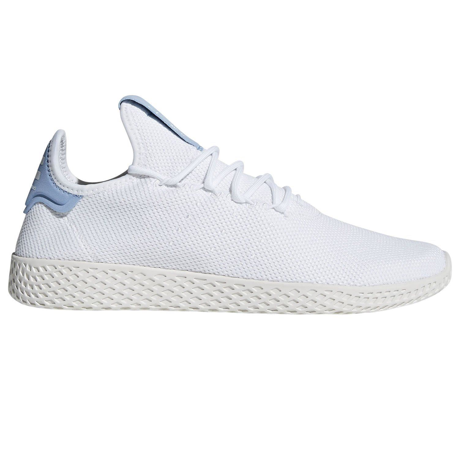 pretty nice 3df6c ea874 Adidas PHARRELL WILLIAMS HU baskets blanc bleu baskets formateurs KICKS