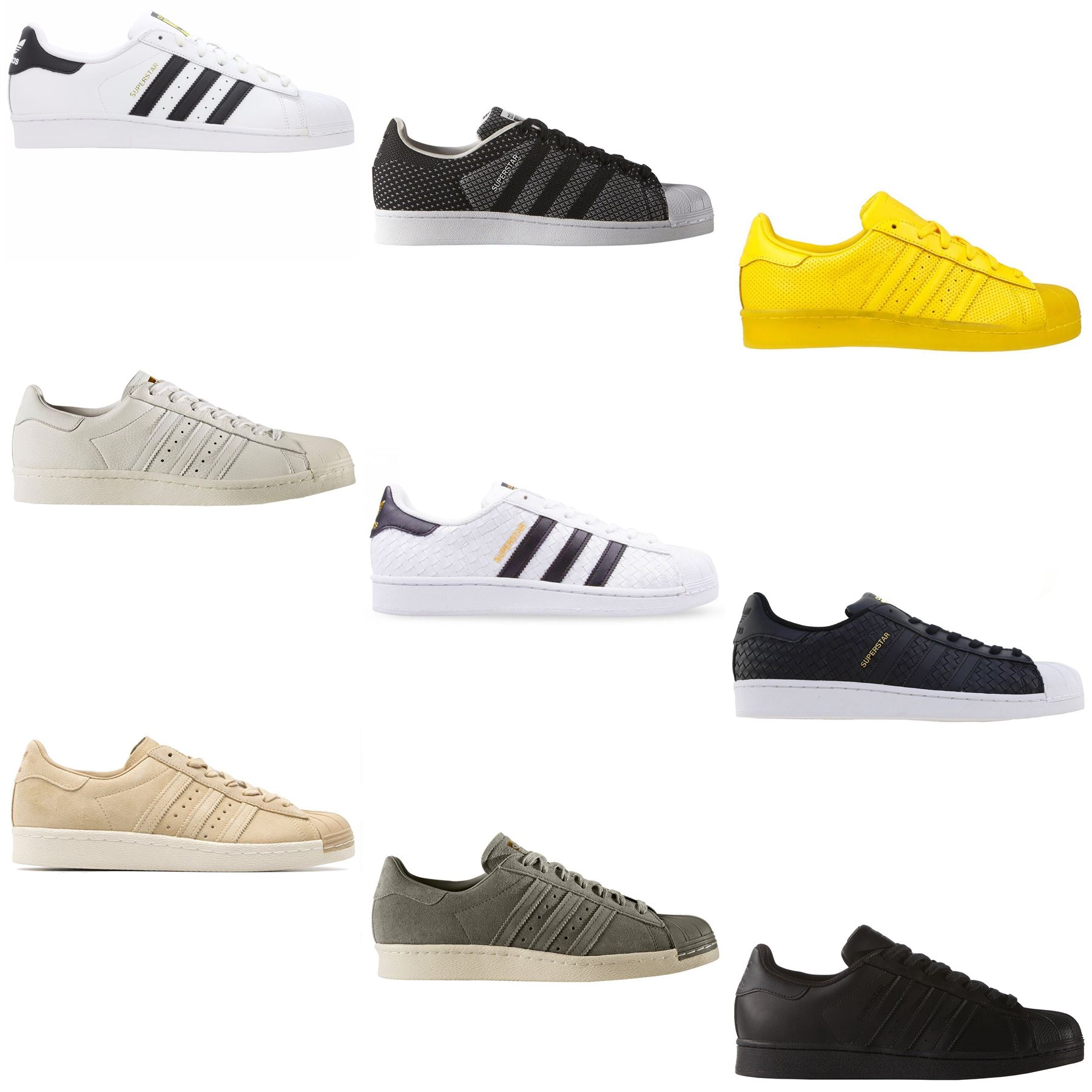 Mode Suede Adidas Originals Superstar 80er Jahre Herren