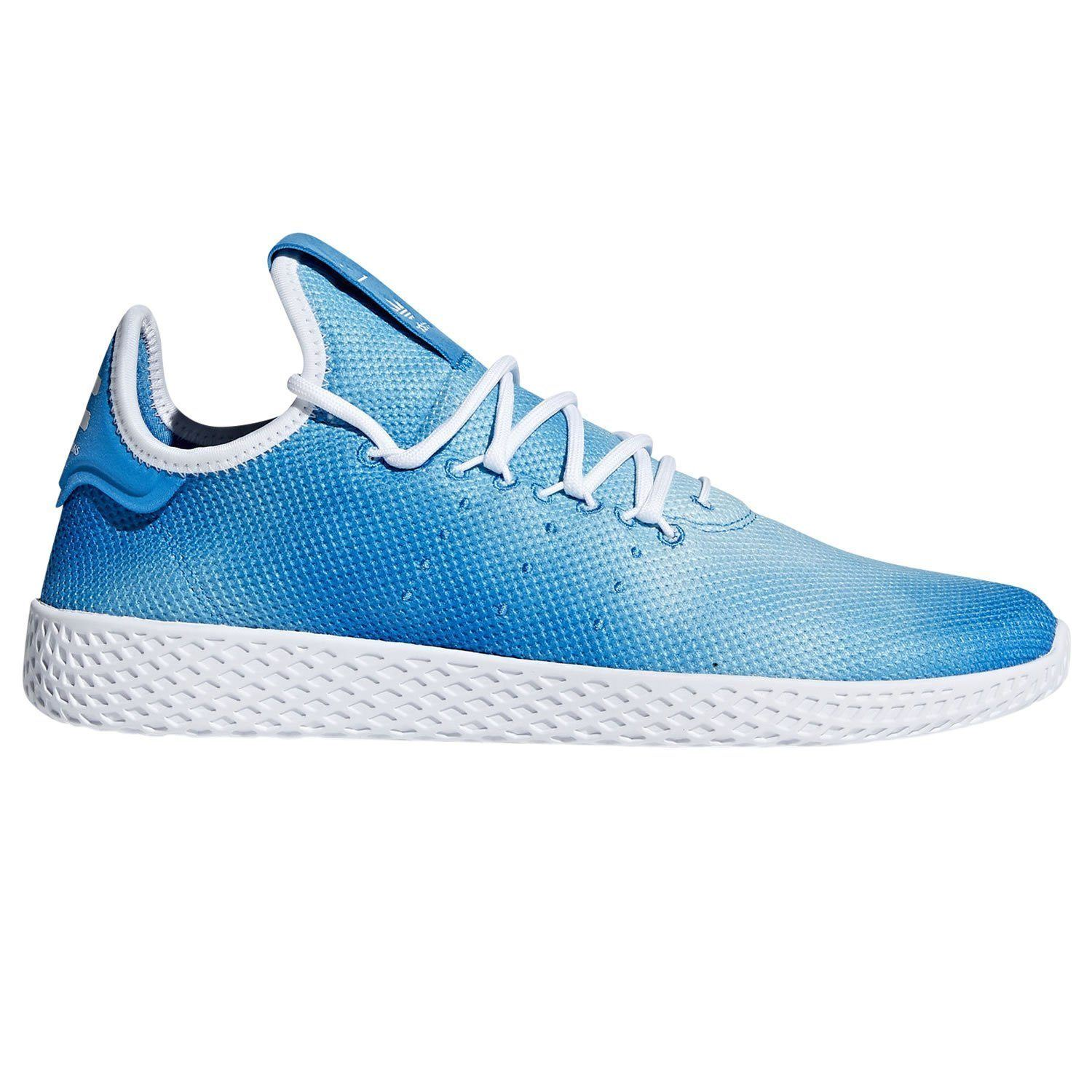 1bc4be58b Details about adidas PHARRELL WILLIAMS HU TENNIS SHOES BLUE TRAINERS  SNEAKERS SHOES MEN S NEW