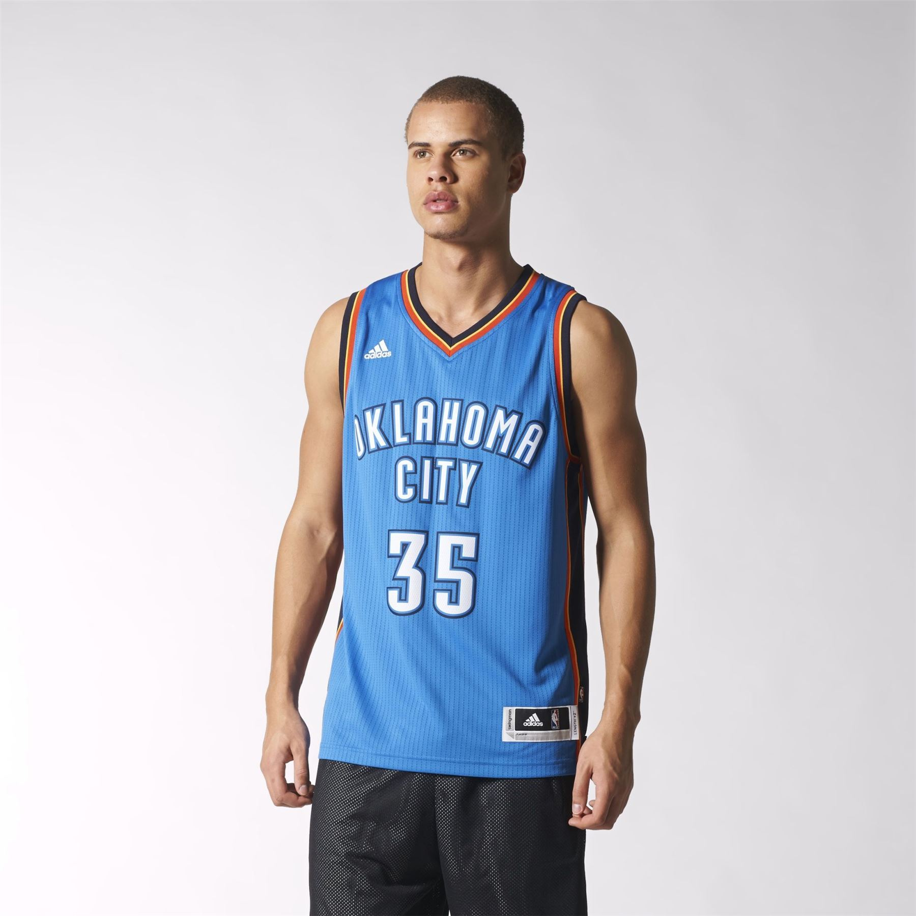 Details about adidas BASKETBALL JERSEYS REPLICA SWINGMAN NBA BULLS THUNDER REAL MADRID ROCKETS