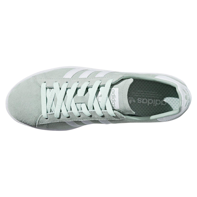 Dettagli su Adidas Originali UOMO Campus Scarpe Sportive Verde da Tennis Rétro Alla Moda