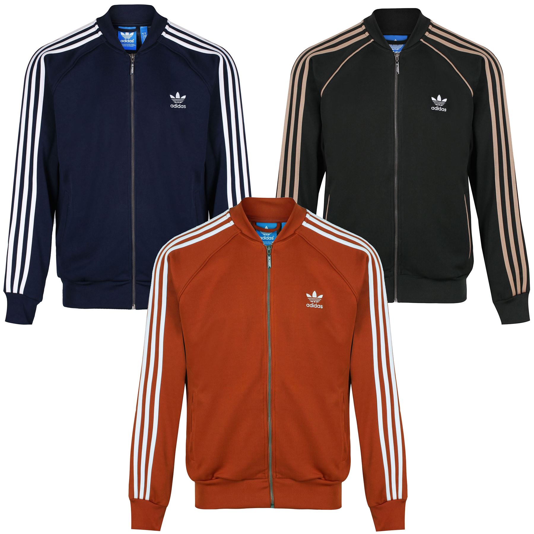 Adidas Originals Superstar Track Top Men S Jacket Red