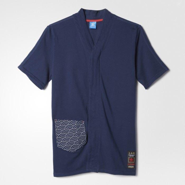 L T Originals M Advanced Jersey Budo Adidas S Xs Shirt Men's Navy xRnzA