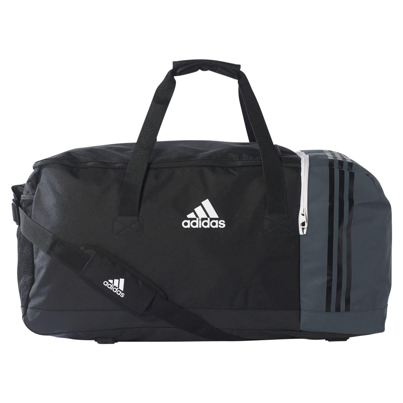 Bolsón Detalles Negro Adidas Gris Tiro Essentials Equipo Grande De Fútbol Viaje Bolso tsQhrd