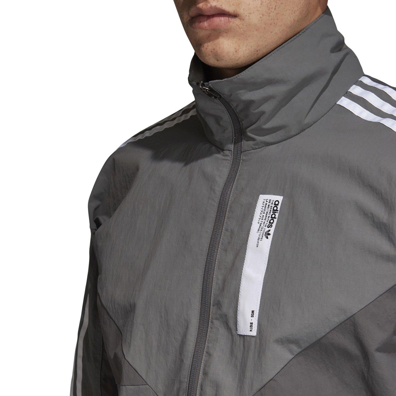 Details about Adidas Original Nmd Colorado Trainingsjacke Grau Retro Neu Modern Top HERREN