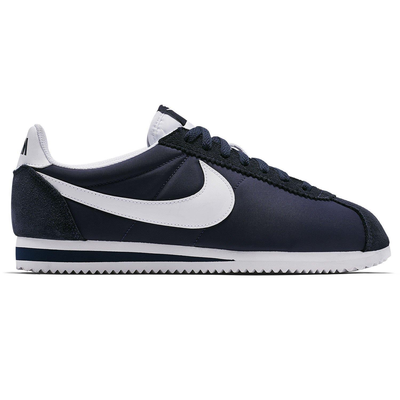 Marineblau Turnschuhe Nike zu 80S Retro Cortez Klassisch Vintage Freizeit Details hrdsCtQ