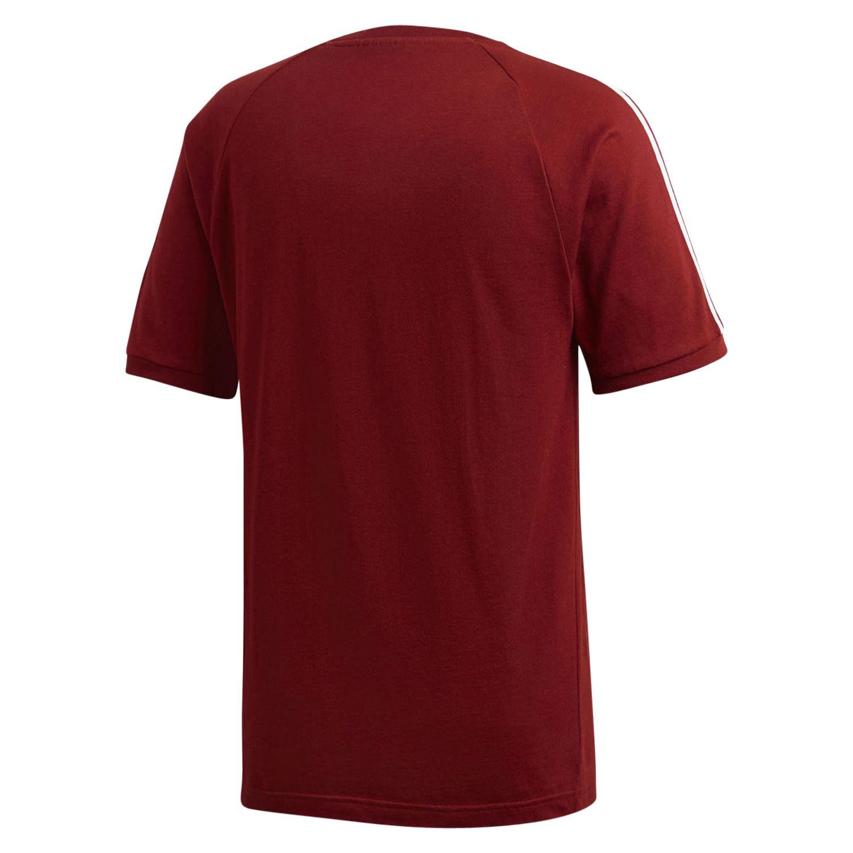 8a6bbb435b adidas ORIGINALS ADICOLOR CALIFORNIA T SHIRT RED TEE TOP CREW NECK TREFOIL  NEW