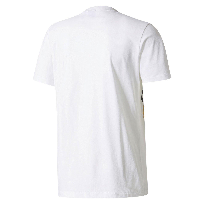 TRIBÙ T camicia bianca girocollo TOP TEE RETRO RUSSIA ADIDAS ORIGINALS uomo  degli anni   80 ad545332d581