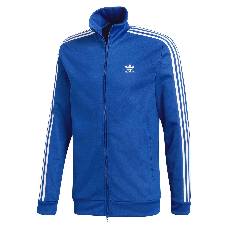 Adidas-Originaux-Beckenbauer-Veste-Rouge-Bleu-Marine-Vert-Beige-XS-S-M-L-XL-XXL miniature 4