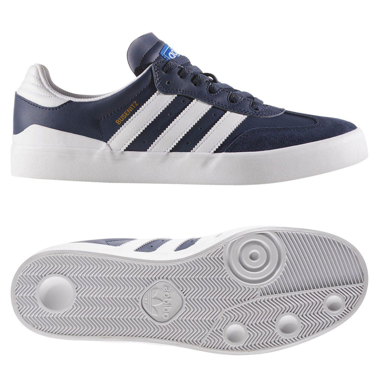 AZUL BUSENITZ VULC entrenadores Skate zapatos formadores Adidas ORIGINALS  hombre 9f7920283bef6