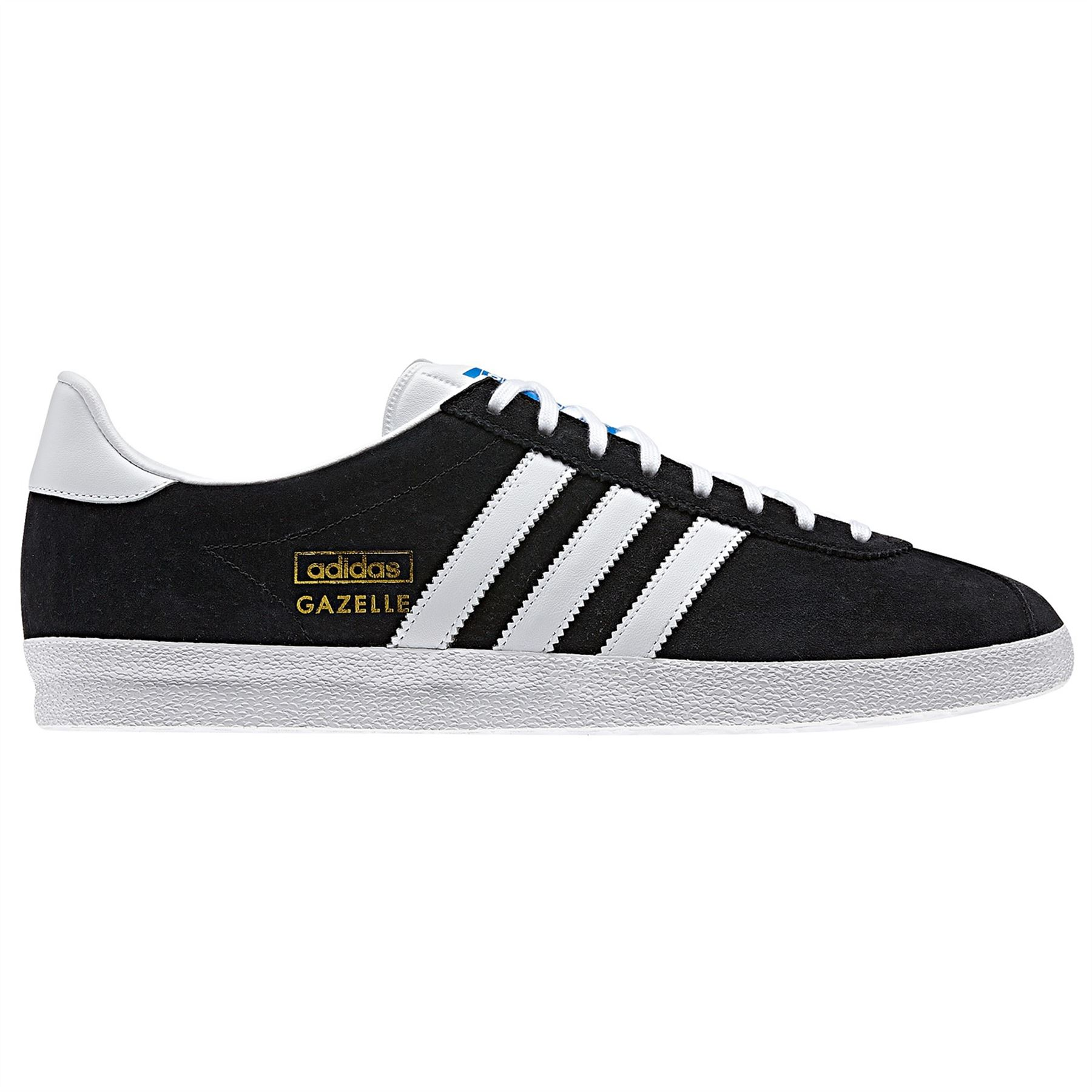 buy popular 4cd29 5e43c Details about adidas GAZELLE OG TRAINERS SNEAKERS ORIGINALS SUEDE RED BLUE  BLACK NAVY GOLD MEN