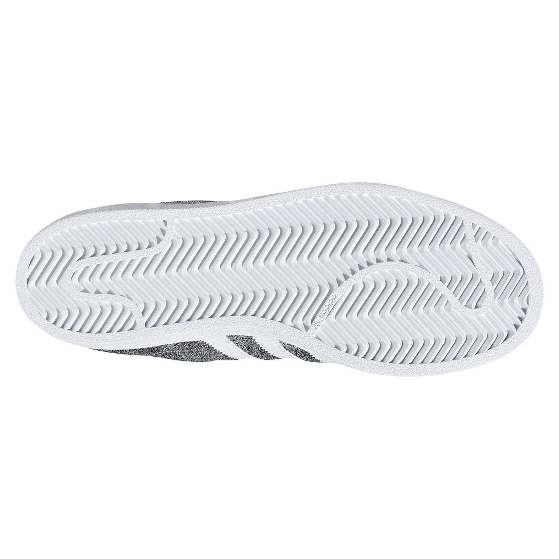 check out d3a2b aee60 SUPERSTAR formadores metálicos brillantes zapatillas zapatos Adidas  ORIGINALS mujer