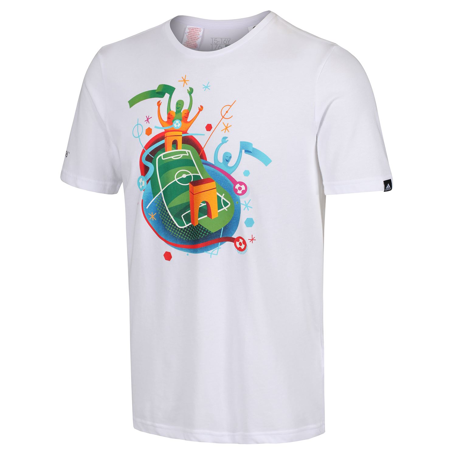 miniature 14 - Adidas-Enfants-Sports-T-Shirt-Garcons-Filles-9-10-To-15-16-ans-football-Crew