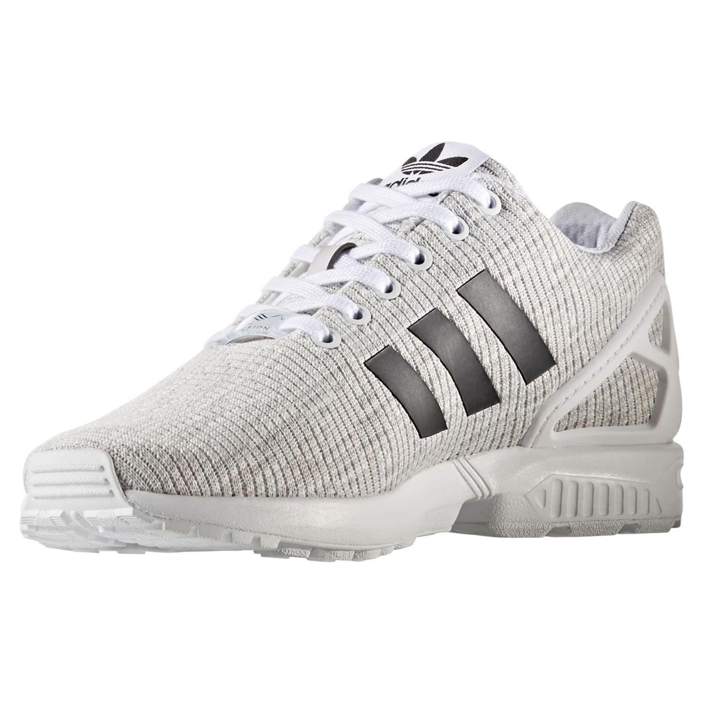 Détails sur Adidas Originaux HOMME Zx Flux Baskets Chaussures Blanc Gym Confortable Neuf