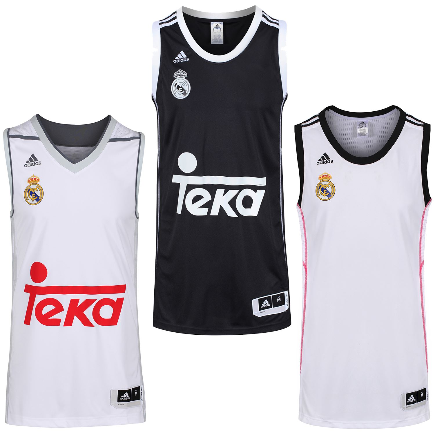 info for 872ce b01a1 Details about adidas REAL MADRID BASKETBALL JERSEYS TOP MEN'S S M L 4XL  SPAIN VEST SHIRT