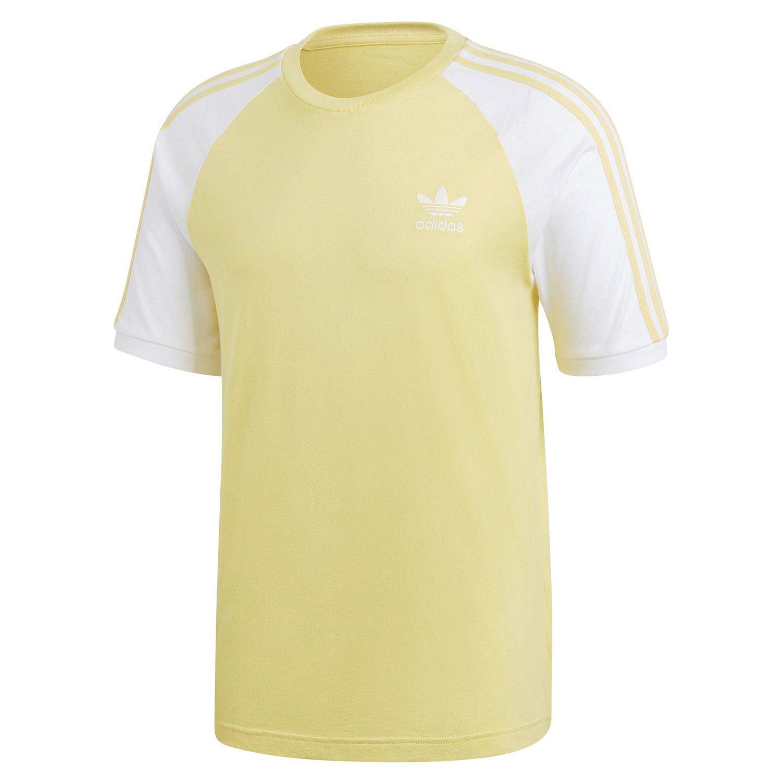yellow adidas originals t shirt