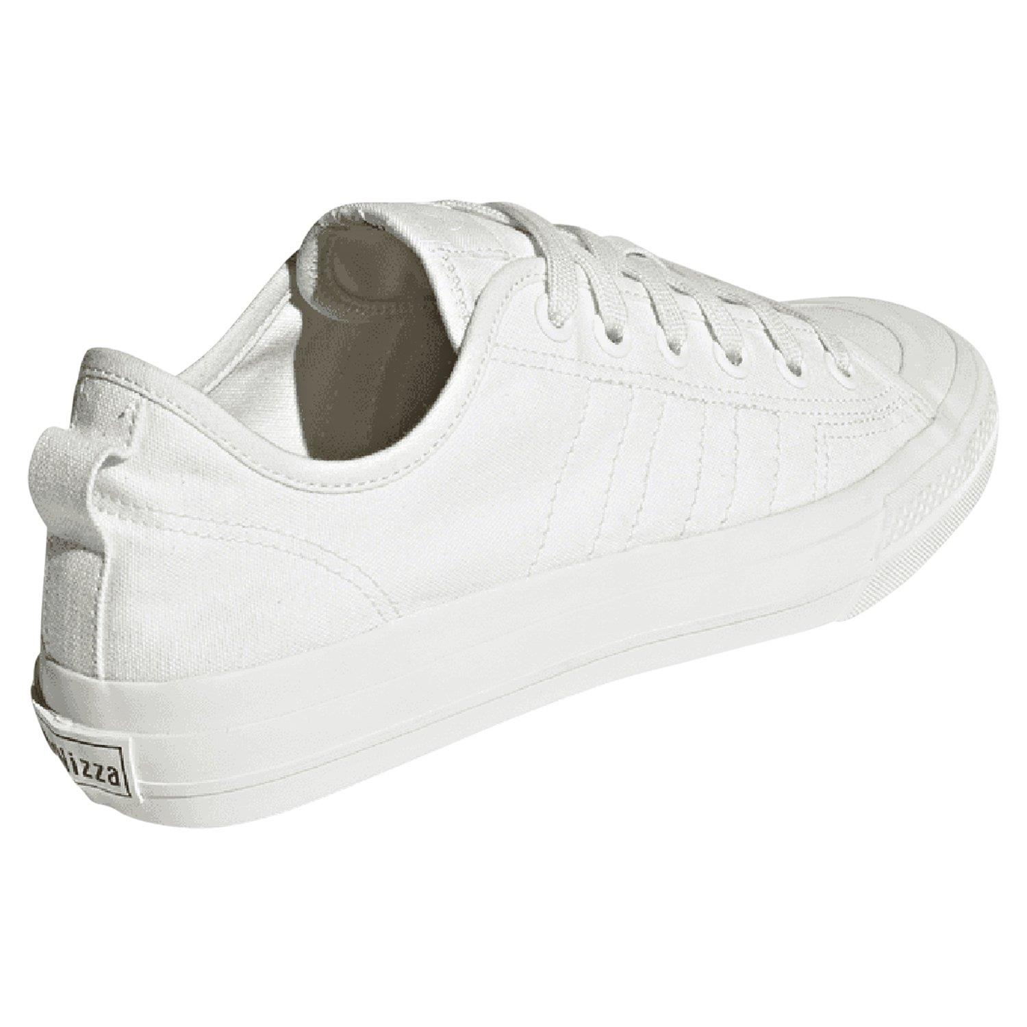 fuego Ser metodología  adidas ORIGINALS NIZZA LO RF WHITE TRAINERS SKATEBOARDING SHOES CANVAS  SNEAKERS | eBay