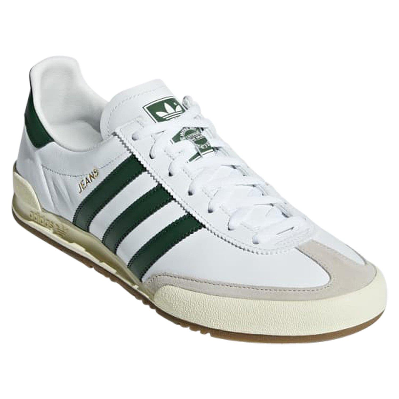 Détails sur Adidas ORIGINALS Homme Jeans Baskets Baskets Chaussures Blanc Retro Vintage Neuf afficher le titre d'origine