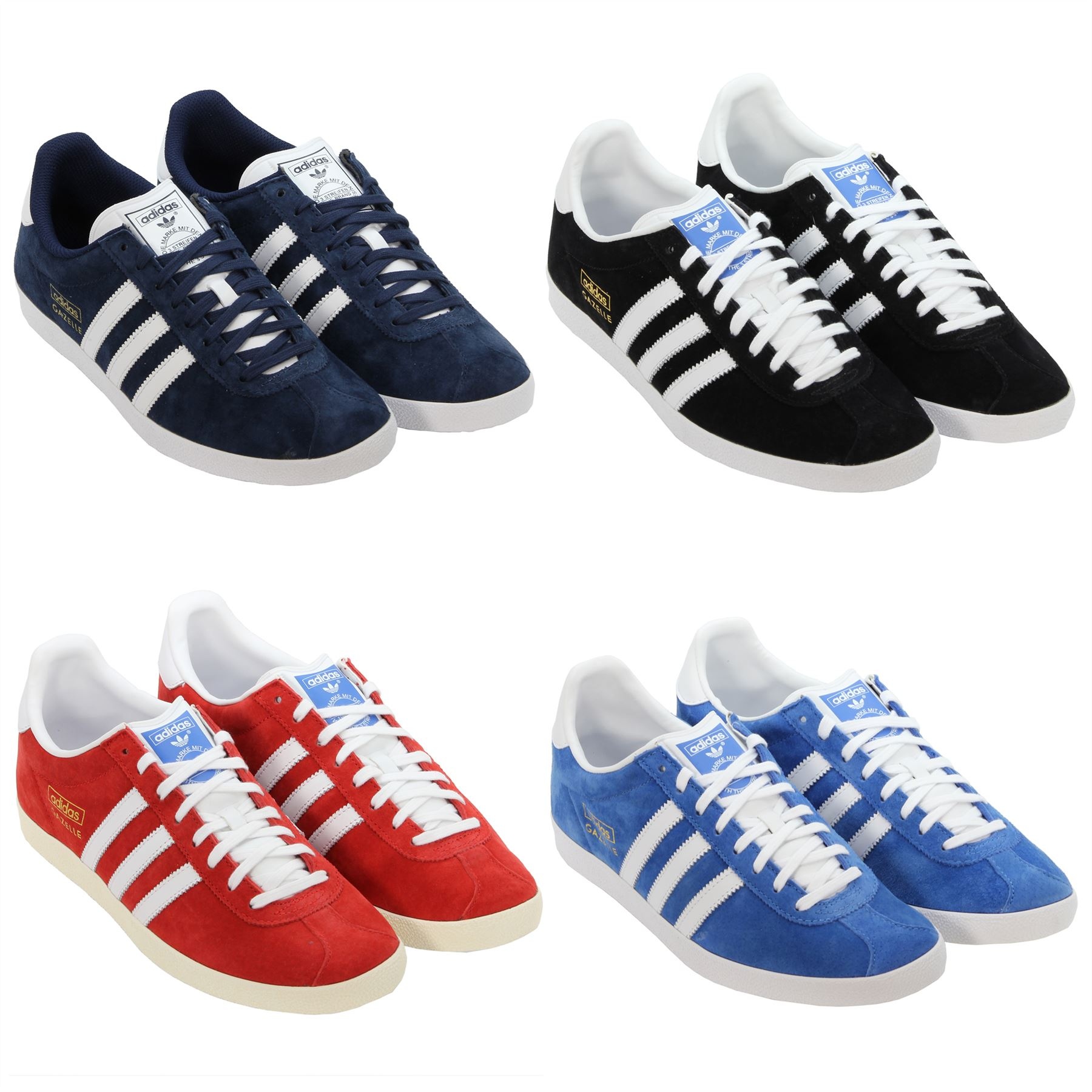 251909a463257b adidas ORIGINALS MEN S GAZELLE TRAINERS SIZE 7 8 9 10 11 12 SUEDE LEATHER  SHOES