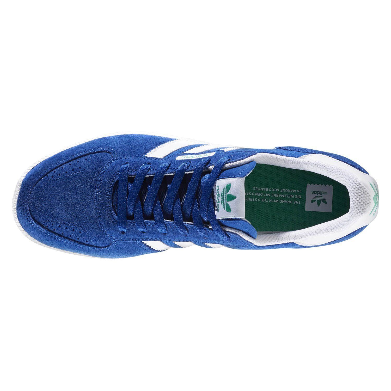 Detalles acerca de Adidas ORIGINALS para hombre Azul Leonero Skate Zapatillas Zapatos Retro Skateboarding NUEVO mostrar título original