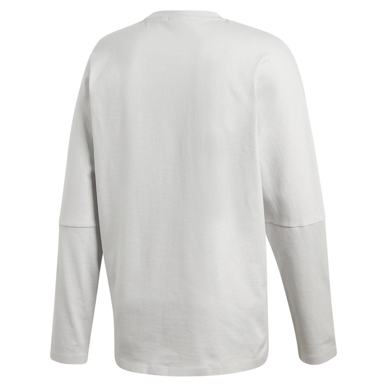 6f16c75969237 Details about adidas ORIGINALS NMD LONG SLEEVE T SHIRT GREY TEE TOP MEN S  COTTON CREW NECK NEW