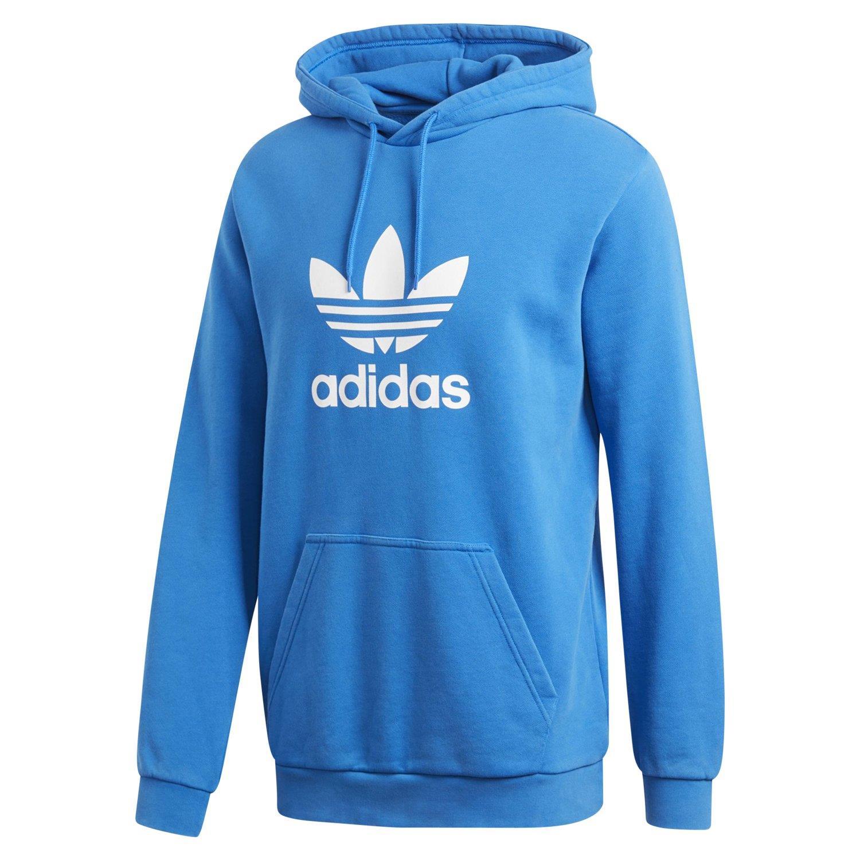 Details zu Adidas Original HERREN Baumwolle Trefoil Kapuzenpulli Blauer Vogel Pullover