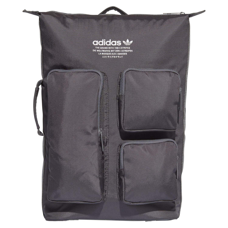 207b5f108f adidas ORIGINALS MEN S NMD DAY BACKPACK RUCKSACK GREY SCHOOL BAG MODERN NEW  BNWT
