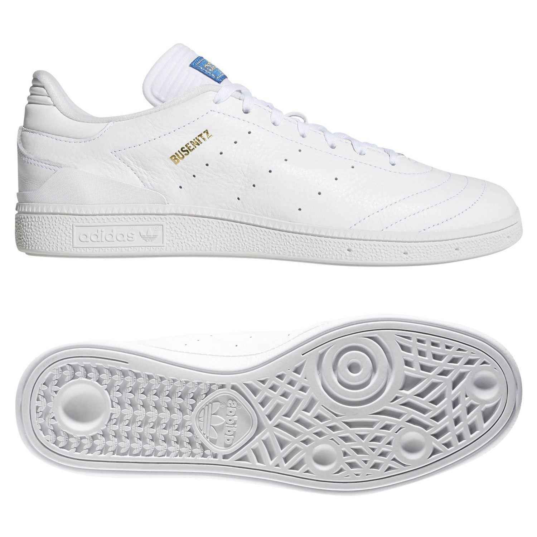 adidas ORIGINALS MEN S BUSENITZ RX SKATE SHOES TRAINERS WHITE SKATEBOARDING  NEW 1efce2028