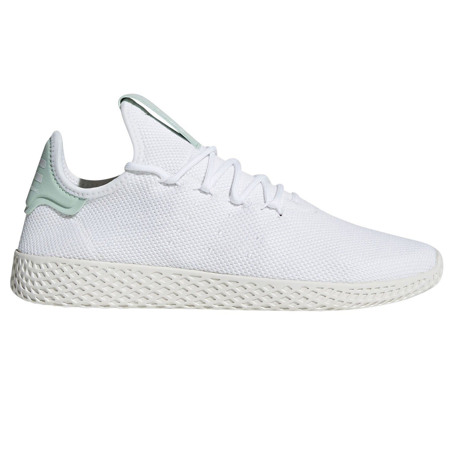 f9d5946c451c5 Details about adidas ORIGINALS PHARRELL WILLIAMS HU TENNIS TRAINERS WHITE  GREEN MEN S UNISEX