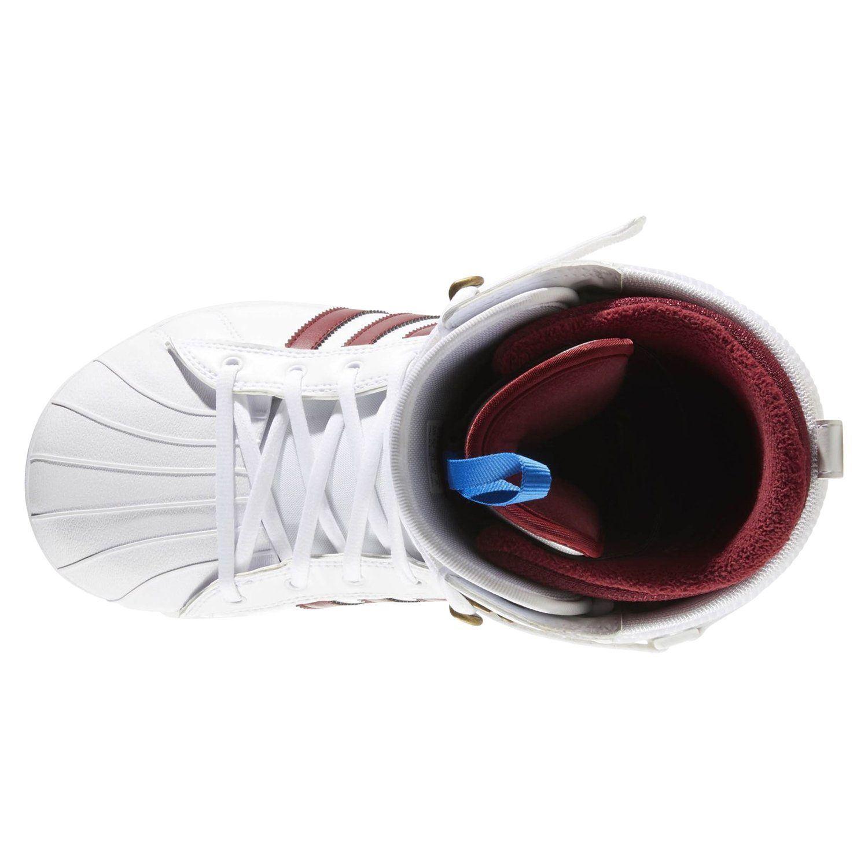online store 85bbc 2e94e Details about adidas ORIGINALS MEN'S SUPERSTAR ADV SNOWBOARD BOOTS WHITE  WINTER TREFOIL