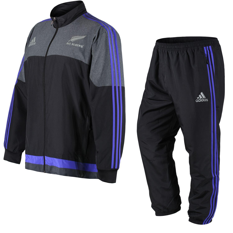 Adidas Nuova Zelanda ALL BLACKS presentazione tuta 3XL XXXL Coppa del mondo