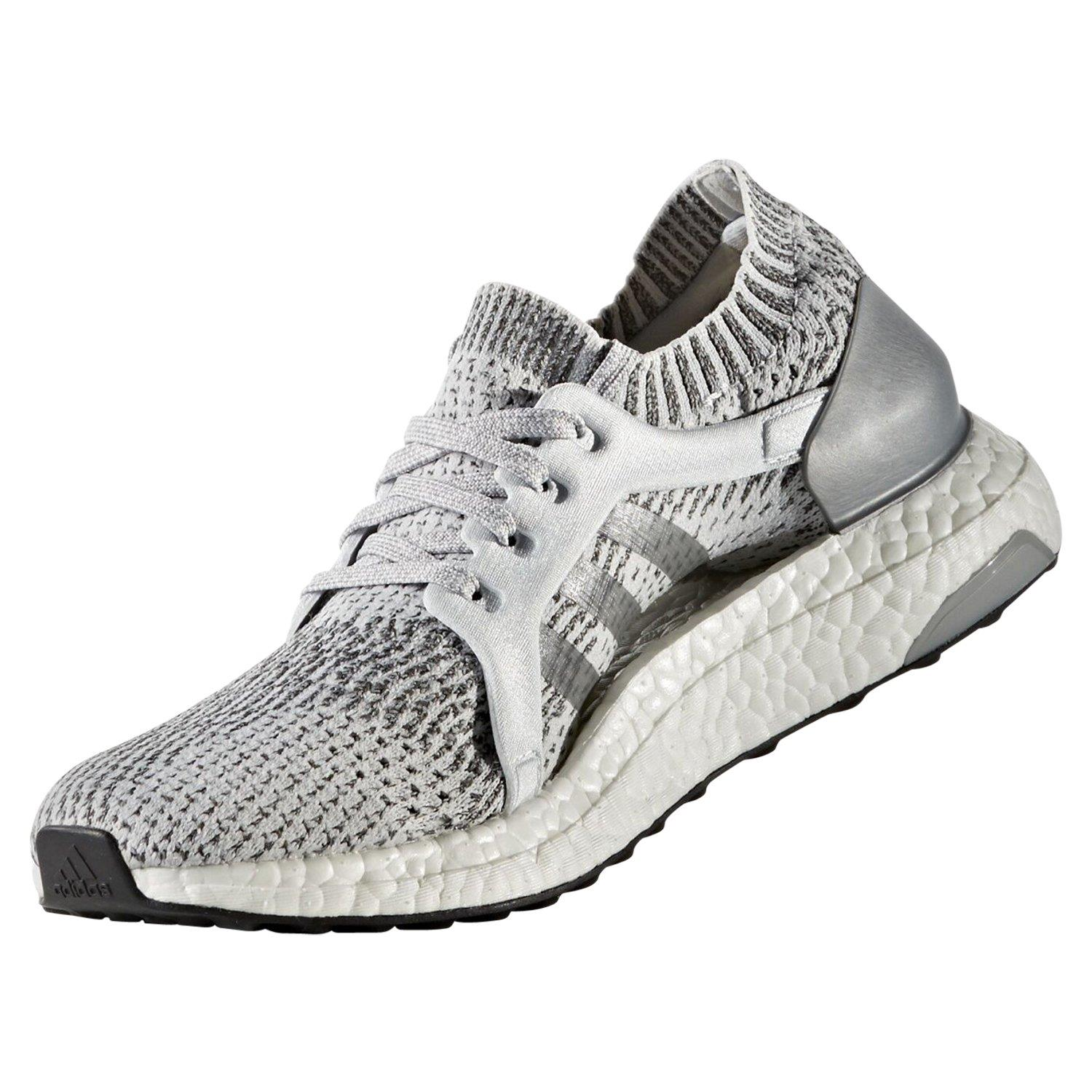Details zu adidas ULTRA BOOST X RUNNING SHOES GREY PRIMEKNIT COMFORTABLE LADIES WOMENS