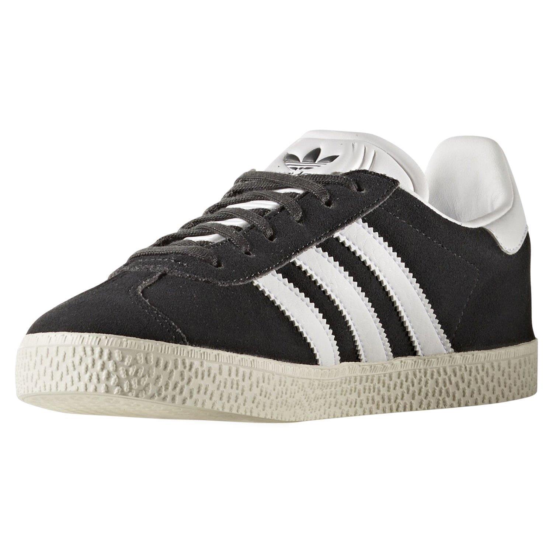 Adidas originals gazelle junior grey trainers shoes smart