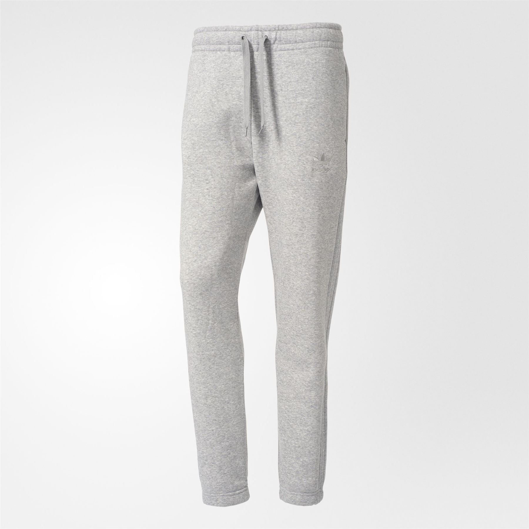 502457403 Details about adidas ORIGINALS TREFOIL SERIES SWEAT PANTS GREY JOGGERS  BOTTOMS MEN'S COMFY NEW