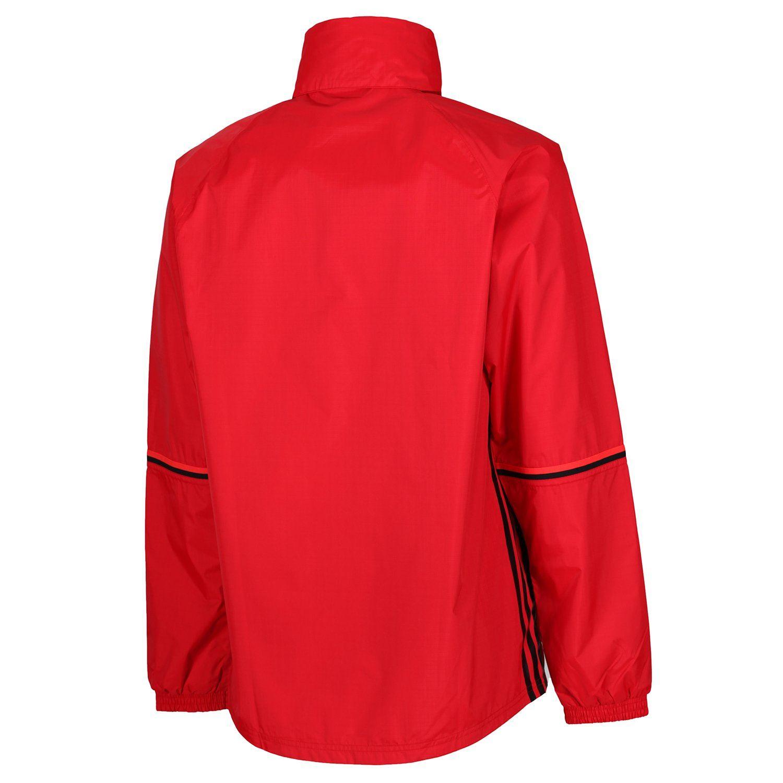 Détails sur Adidas Danemark équipe nationale Veste imperméable rouge homme football manteau nouveau officiel afficher le titre d'origine