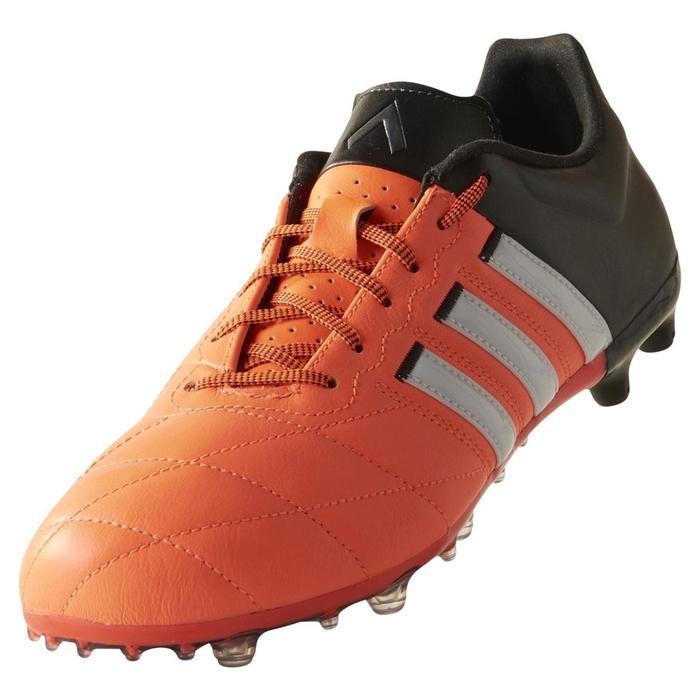 Dettagli su Adidas Ace 15.2 FgAg Scarpe da Calcio Nero Arancione 5 a Lato 4G Nuovo BNWT
