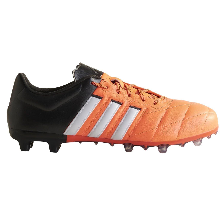 Adidas FOOTBALL BOOTS UK 6-12 ACE X 15.2 cuero firma tierra futbol los  hombres de 5fd66917968ba