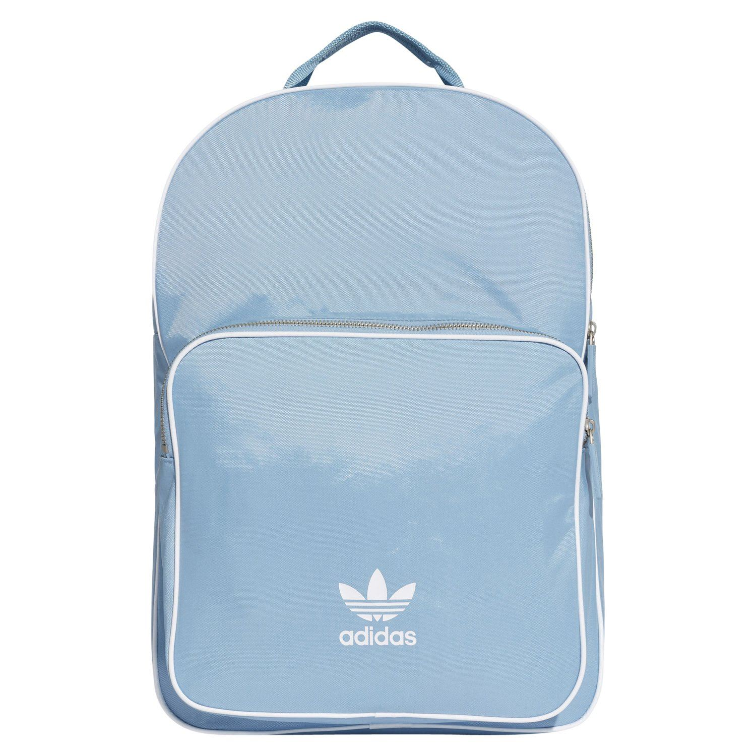 check out ed333 511d9 Details about adidas ORIGINALS CLASSIC ADICOLOR BACKPACK BLUE TREFOIL RETRO  UNIVERSITY COLLEGE