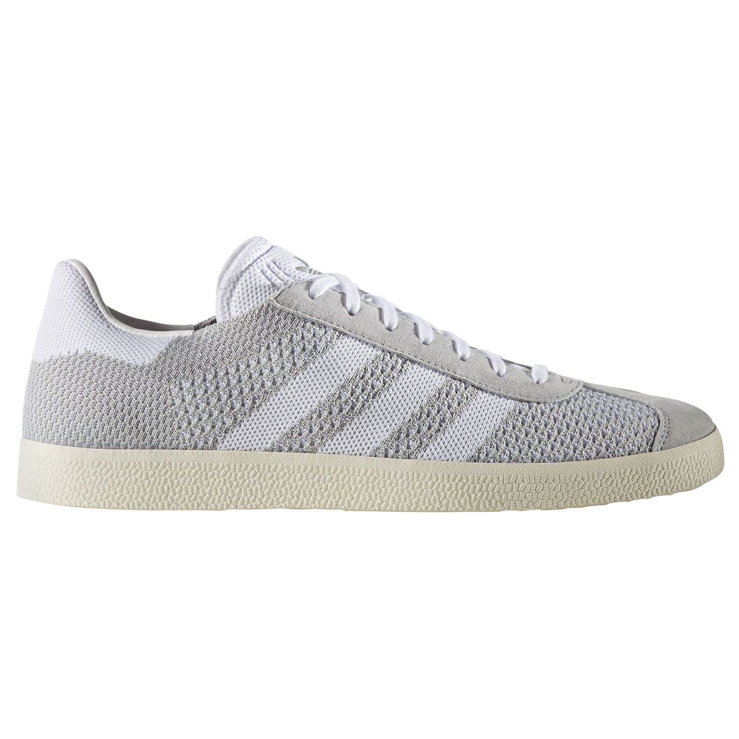 low cost 7053c 0a5a8 Details about adidas ORIGINALS GAZELLE PK TRAINERS GREY trainers SNEAKERS  SHOES PRIME KNIT