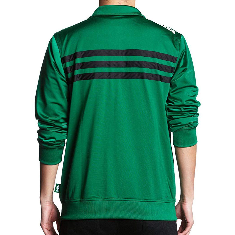 adidas Boston Celtics Bold Track Jacket Green
