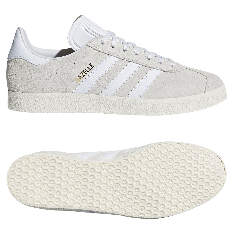 Retro Originals Estilo de Detalles HOMBRE Blancas Adidas Zapatillas Informal Gazelle j4RL5A3q