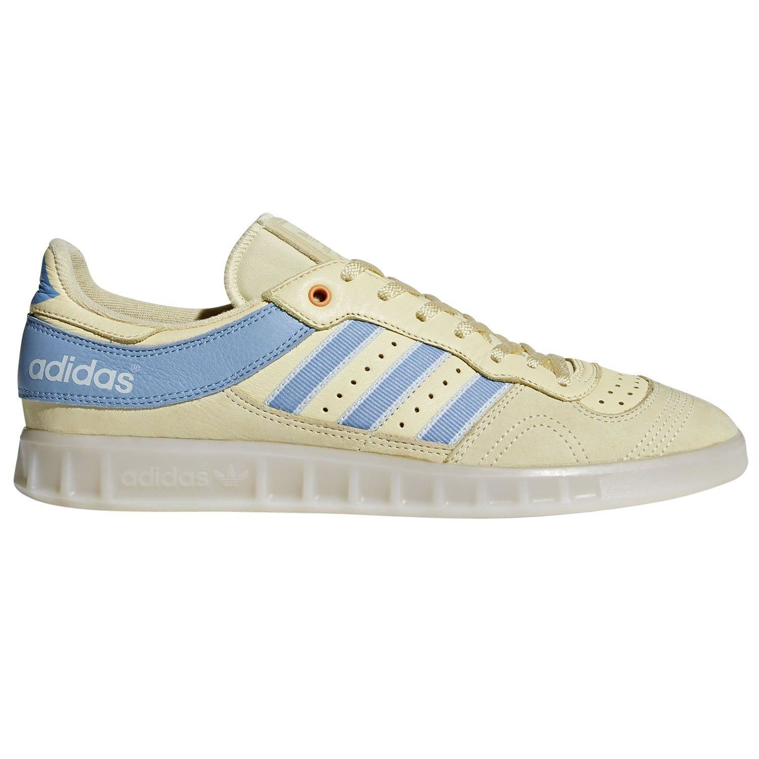 Details about adidas ORIGINALS MEN'S HANDBALL TOP OYSTER YELLOW SNEAKERS SHOES TRAINERS RARE