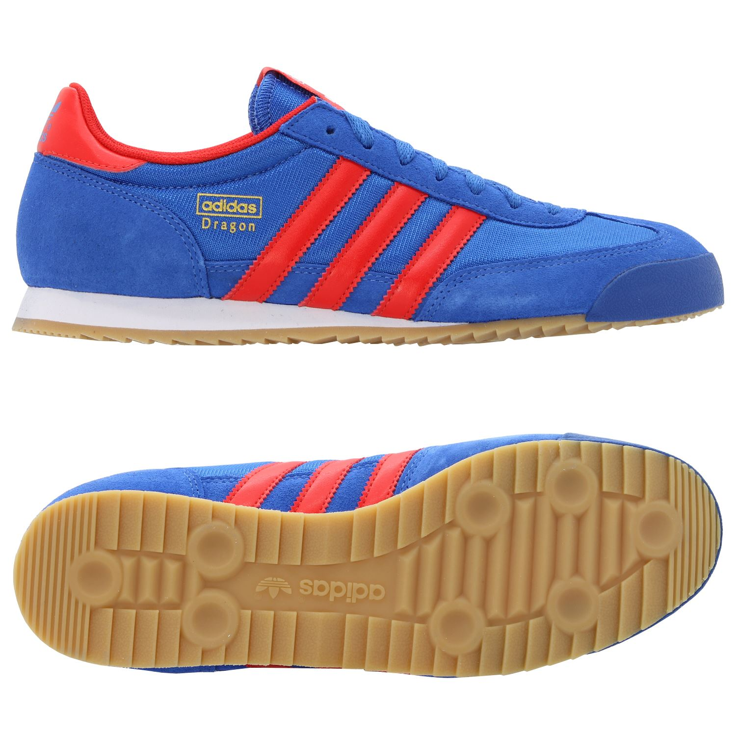 adidas dragon shoes blue red