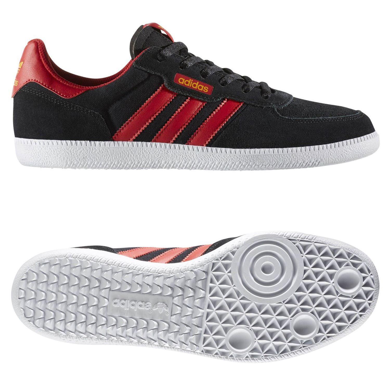 ed4e8f06a60 Adidas ORIGINALS LEONERO Trainer Schwarz SKATEBOARDING Herren Schuhe Sneaker