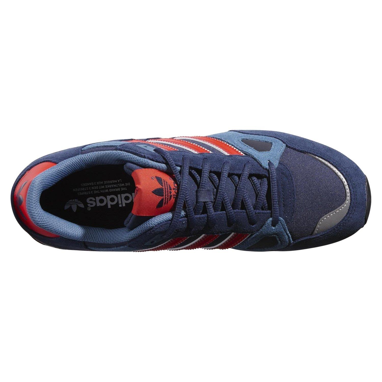 Dettagli su Adidas Originali Zx 750 Scarpe da Ginnastica Navy Papavero Raro Deadstock UOMO