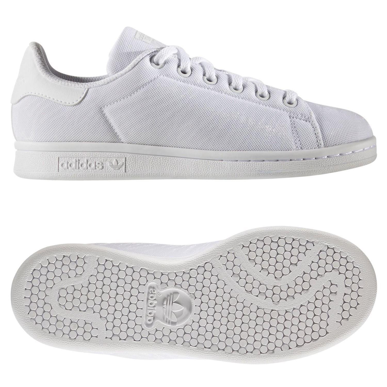 buy online cf09a 67c91 Adidas ORIGINALS STAN SMITH JUNIOR entrenador blanco chicos chicas zapatillas  zapatos