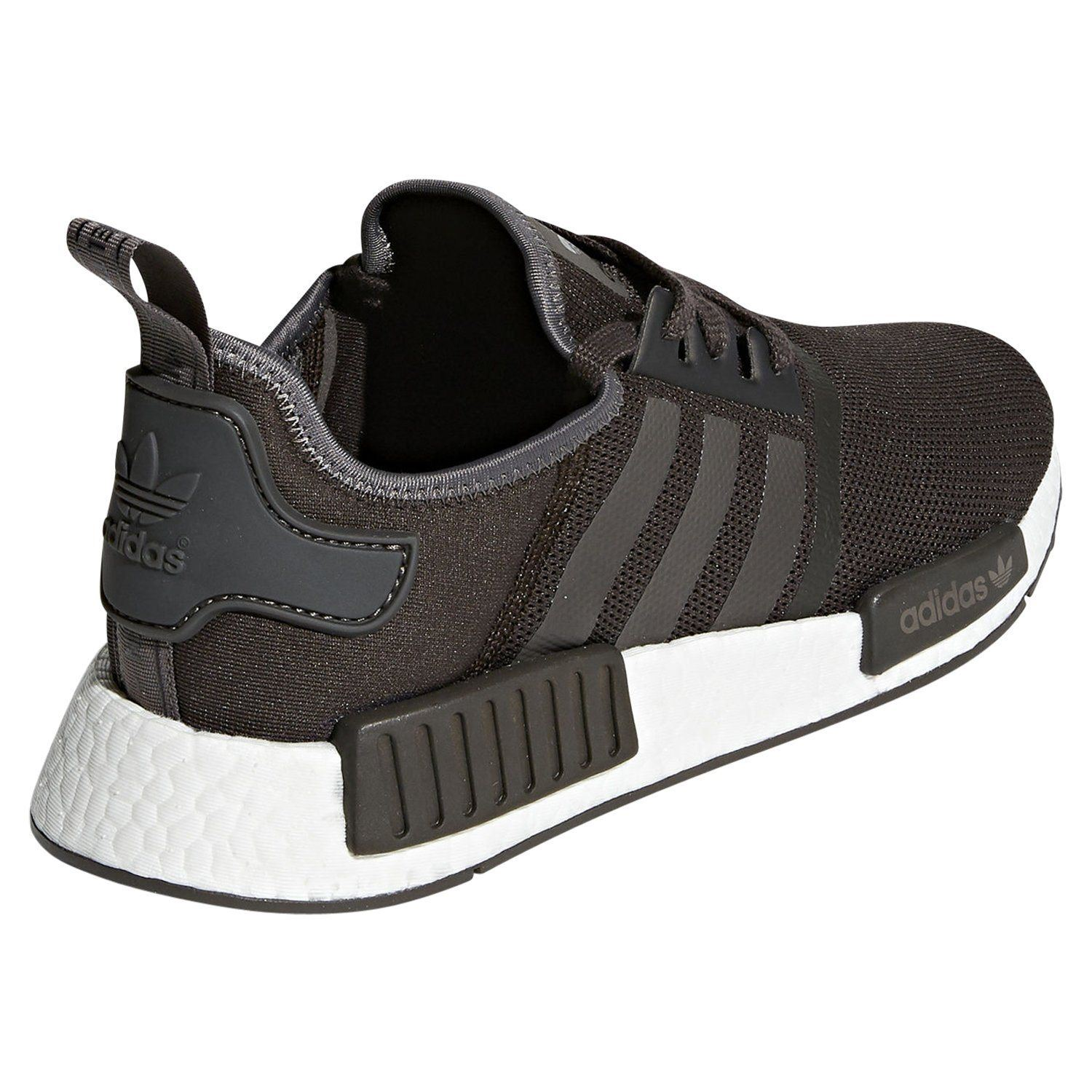 Details about adidas ORIGINALS NMD_R1 TRAINERS BROWN SNEAKERS SHOES MEN'S 3 STRIPES TREFOIL