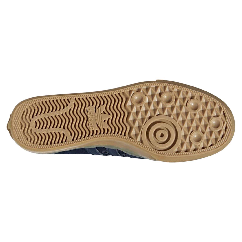 adidas nizza sneaker low schwarz
