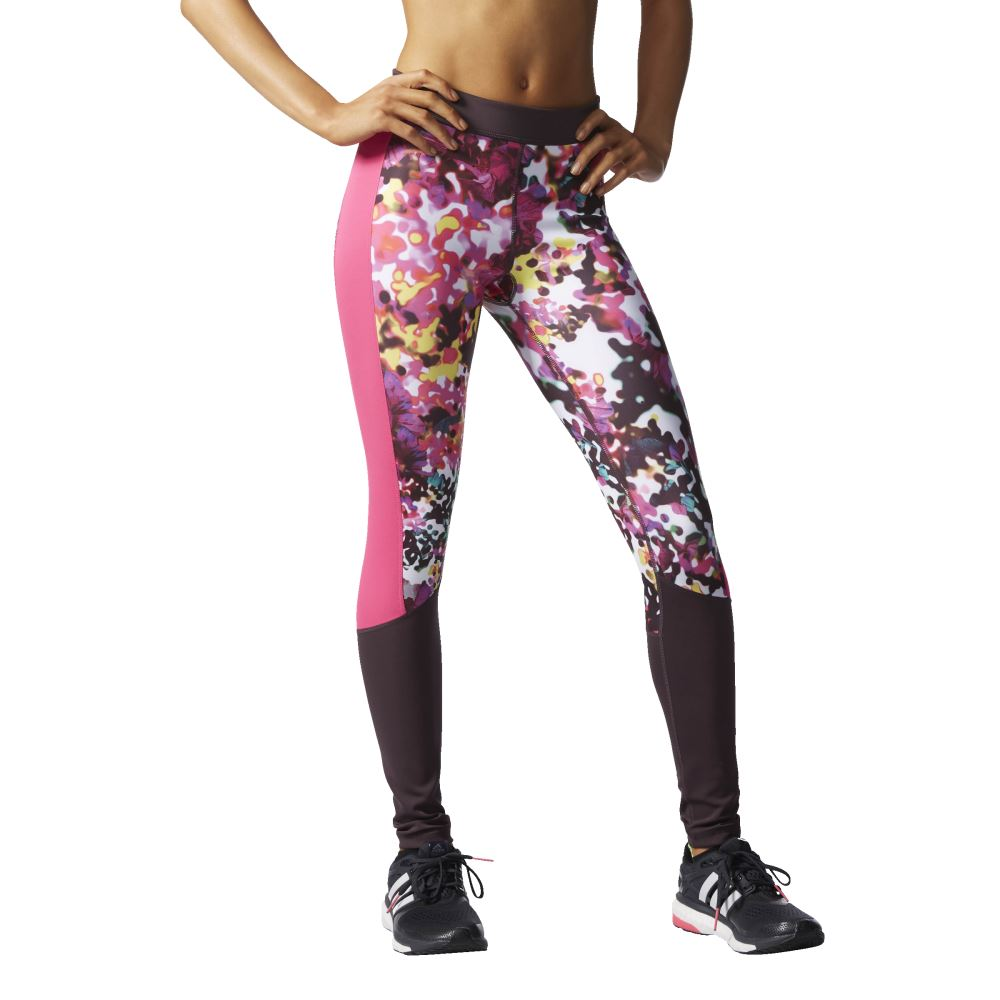 03f7571f9eed6 adidas WOMEN'S GYM LEGGINGS TIGHTS TECHFIT RUNNING COMFY GIRLS DANCING NEW  SALE